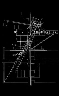 Morphopedia - The Online Encyclopedia of Morphosis Architecture Graphics, Architecture Drawings, Architecture Plan, Residential Architecture, Landscape Architecture, Morphosis Architecture, Presentation Pictures, Conceptual Drawing, Arch Model