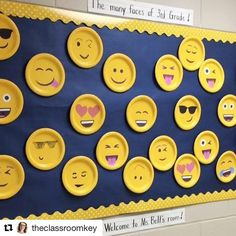 "79 Likes, 8 Comments - Jen Moses (@slprunner) on Instagram: ""Emojis are all the rage! I love this idea @theclassroomkey """