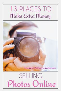 Even amateurs can make money selling stock photos. Here's a great list of places to list your images.
