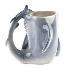 shark attack mug #Shark #Mug #Christmas