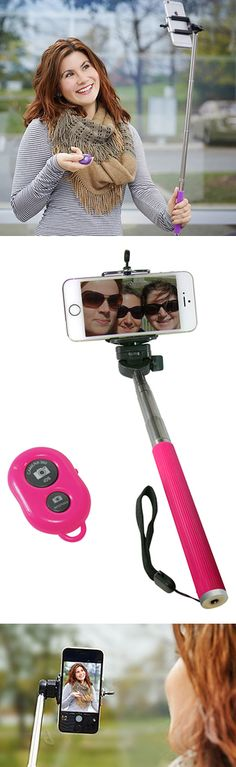 Selfie stick! They legitimately have a selfie stick. What has this world come to