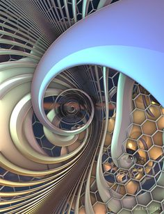 Untitled 3d fractal art Mandelbulb 3d Paul Griffitts www.frackxion.com