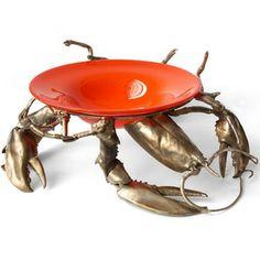 Bronze Lobster Bowl by Joan Sherman