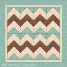 Chevron Quilt-one day i'm going to try this:)