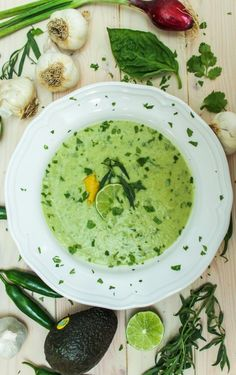 Avocado Gazpacho Soup | 23 Chilled Soups To Cool You Down