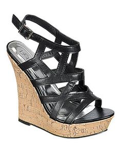 Loving this Westwood Footwear Black Romy Wedge on #zulily! #zulilyfinds