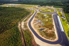 Botniaring. Moottoriurheilurata. South Ostrobothnia province of Western Finland. - Etelä-Pohjanmaa.