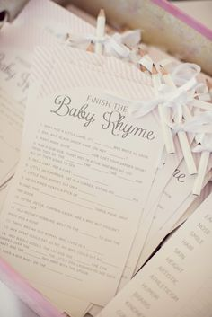 Shabby Chic Little Birdie Themed Baby Shower // Hostess with the Mostess® JUST CHANGE TO LAVENDER
