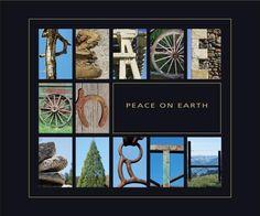 Peace on Earth.  Our stuff on Fine Art America.