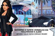 Você precisa baixar o game da Kim Kardashian pra celular! Hahaha!