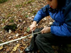 Beginning Whittling with Boys and Girls