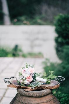 Margaret River Wedding ~ Bridesmaid Bouquets ~ Spring Wedding ~ Vintage ~ Rustic ~ Wedding Floral Design ~ Styling by www.chicrustique.... ~ Australia weddings ~ UK Weddings ~ International wedding and event styling ~ Venue margaretriverssecretgarden.com.au/ ~ Photographywww.benyew.com