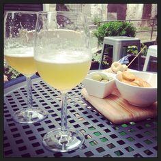 Si inaugura la pedana estiva con una buonissima birra bianca chouffe