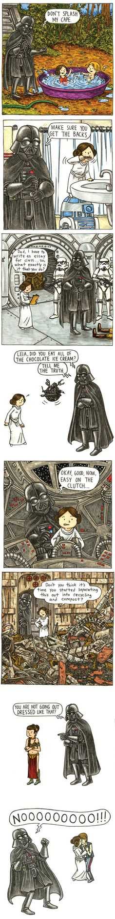 Vader's Little Princess // funny pictures - funny photos - funny images - funny pics - funny quotes - #lol #humor #funnypictures