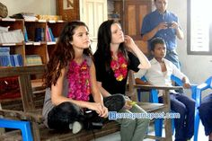 Selena Gomez en Nepal, India - 21 de mayo.