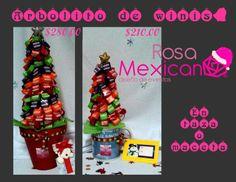 Arbolitos de winnis, disponibles en Guadalajara y Monterrey