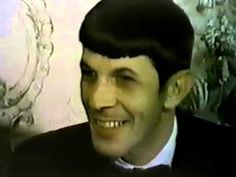 """A short interview with actor Leonard Nimoy (Spock) in the days before production began on """"Amok Time"""". He also discusses the release of his first album, """"Leo. Zachary Quinto, Leonard Nimoy, Star Trek Tos, Spock, Interview, Heaven, June, Album, Actors"""