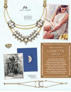 Lunette Design Inspiration from the Summer 2015 Le Tropique collection http://www.chloeandisabelsavannah.com