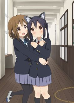 Yui-chan and Azu-nyan