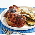 www.gaea.gr Barbecue Chicken with Mustard Glaze Recipes