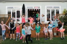 Madison and Emilie hosted a Pink Morning Tea for all their friends - it looks like they all had a great time!
