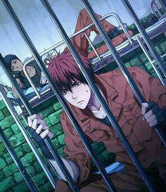 Aomine Daiki and Kagami Taiga in prison together. (Kuroko no Basuke/Kuroko's Basketball:
