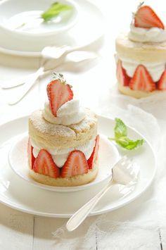 Individual Strawberry Shortcakes