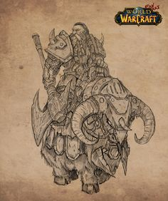 Dwarfs sketches (WoW Fan-art series), Tony Sart on ArtStation at https://www.artstation.com/artwork/0KKDK