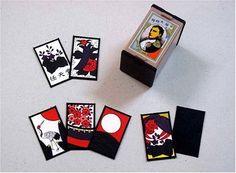 Japanese Napoleon Hanafuda Playing Card Deck. ECA LISTING BY Japanese Games Shop, Hiroshima, Japan