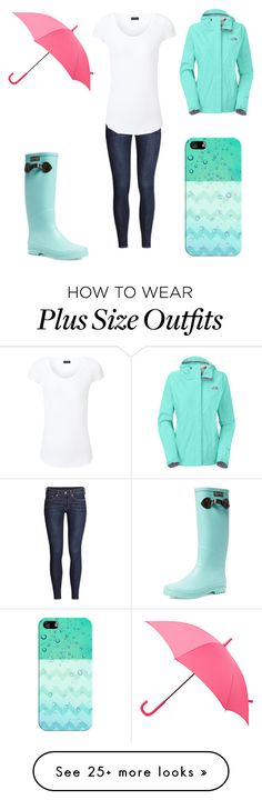 """save it for a rainy day"" by a-hidden-secret on Polyvore featuring H&M, Joseph, Hunter, The North Face, Aigle and Casetify"