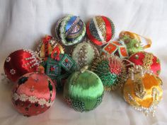 Vintage 1960's Lot of 13 handmade Christmas by AuntSuesVintage, $29.99