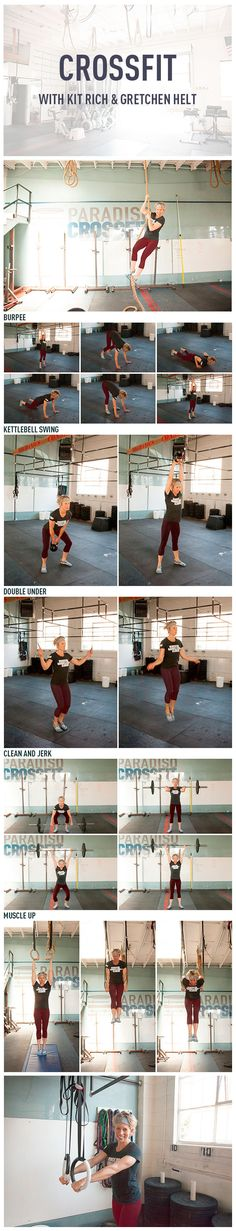 Tried Crossfit? CrossFit Guru Gretchen Helt Gives Us Her Top Five Fitness Moves Top 5 crossfit moves! Crossfit Moves, Crossfit Motivation, Sport Fitness, Fitness Diet, Health Fitness, Crossfit Inspiration, Fitness Inspiration, Buns Of Steel, Train Like A Beast