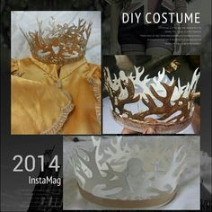 My DIY Game of thrones crown.