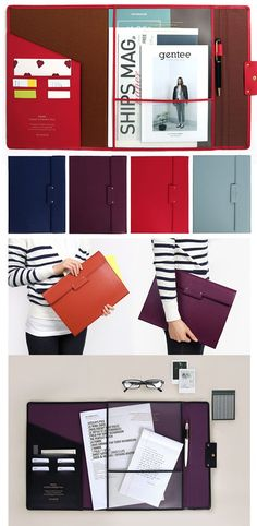 Start organizing with this simple & elegant Large Classy File Folder! It's designed to hold letter sized & A4 sized papers on both sides of the folder. Another extra wide slot can be used to store a mini planner or other stationary items. A pen holder is built in with card slots so you can keep your ID, transit card, meal card, and more too! The entire folder can be securely closed with the snap button. Absolutely perfect for students and professionals! Learn more at mochithings.com!