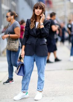 One thing's for sure, trendistas love jeans. Here's how they're rockin' it now!