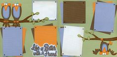 2 Page Scrapbook Layout by Scrapscanada.com  #Scrapbooking #Scrapbook Layout #Friendship