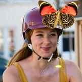 Bern Lenox Gloss Cranberry ladies bike helmet -  | Cyclechic Bern Lenox Gloss Cranberry ladies bike helmet - 40% off<br> Womens Bike Helmet, Ladies Bike, Bern, Lady