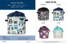 Fall catalog cinch top bins. #thirtyone