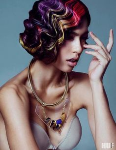 Editorial Avant Garde...HAVE YOU LIKED US YET? DON'T MISS OUT!!! HAIR NEWS NETWORK on FaceBook! on.fb.me/1rHyioW