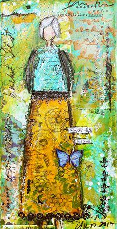 She Is Wisdom Print 18 by ChristyTomlinson on Etsy, $24.50
