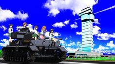 Girls und panzer - the tank crew PzKpfw IV by Schrodinger-Excidium.deviantart.com on @DeviantArt
