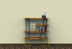 SUMA shelf by Pedro Sanin, via Behance