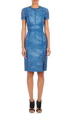 41d63f98e453 J. Mendel Lace Sheath Dress Модные Тенденции, Короткие Платья, Платья На  Заказ,