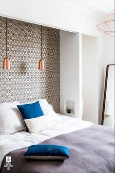 wallpaper as an accent wall