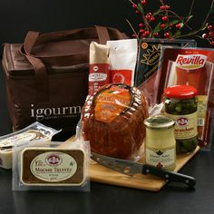 Getting this now for a surprise picnic :) Can't wait!  --> Charcuterie Gift Board from igourmet.com