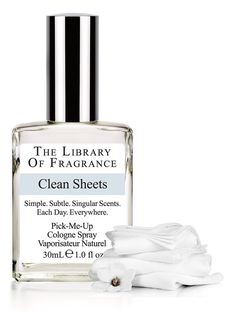 Clean Sheets Cologne – Extraordinary scent & perfume from The Library of Fragrance – The Library of Fragrance