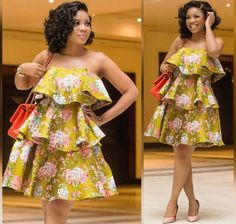 African women dress African print dress African fashion women midi dress Ankara dress ladies dress boho dress teared dress Made to order and shipped from Houston. Many other fabrics available African Fashion Ankara, Latest African Fashion Dresses, African Print Fashion, Africa Fashion, Short African Dresses, African Print Dresses, African Prints, African Traditional Dresses, Ankara Dress