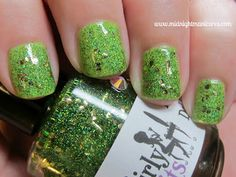 Click Through for a Girly Bits Interesting - Magically Delicious Mani and to learn about May being Lyme Disease Awareness and Mental Health Month.