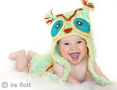 Oh baby owl hat!