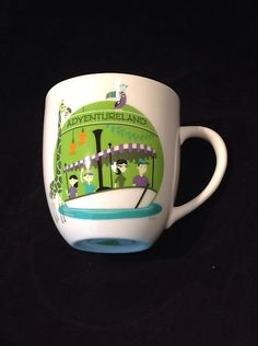 1955-2005 Disneyland Disney Shag 50th Anv Adventureland Jungle Cruise Ride Ceramic Mug